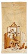 Lavoisiers Respiration Experiments Bath Towel