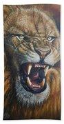 Lion Roar Hand Towel