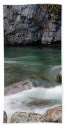 Little Susitna River Bath Towel