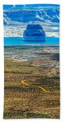 Lone Rock In Lake Powell Utah Bath Towel