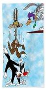 Looney Tunes Bath Towel