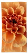 Lovely In Peaches And Cream - Dahlia Hand Towel