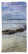 Lyme Regis Seascape - October Bath Towel