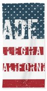 Made In Alleghany, California Hand Towel