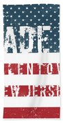 Made In Allentown, New Jersey Hand Towel