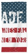 Made In Haines Falls, New York Bath Towel