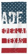 Made In Nederland, Texas Bath Towel