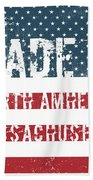 Made In North Amherst, Massachusetts Bath Towel