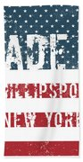 Made In Phillipsport, New York Bath Towel