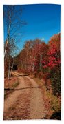 Maine October Hand Towel