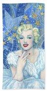 Marilyn Monroe, Old Hollywood Series Bath Towel