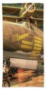 Martin B-26g, Marauder, Shootin In Bath Towel