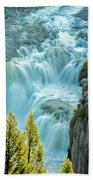 Mesa Falls - Yellowstone Bath Towel