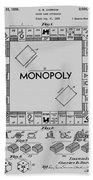 Monopoly Patent 1935 Bath Towel