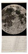 Moon Surface By John Russell Bath Towel