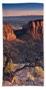 Morning At Colorado National Monument Bath Towel
