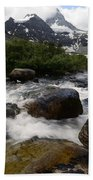 Mount Assiniboine Canada 17 Bath Towel