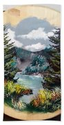 Mountain Lake Bath Towel