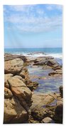Mouth Of Margaret River Beach IIi Bath Towel