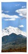 Mt Rainier Washington Bath Towel