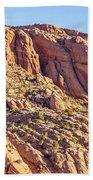 Navajo National Monument Canyons Bath Towel
