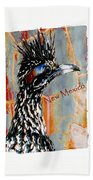 New Mexico Roadrunner Bath Towel
