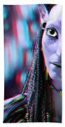 Neytiri - Use Red And Cyan 3d Glasses Hand Towel