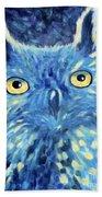 Night Owl Bath Towel