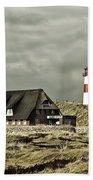 North Sea Lighthouse - Germany Bath Towel