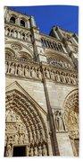 Notre Dame Paris Bath Towel