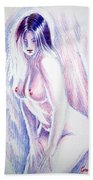 Nude Woman Bath Towel