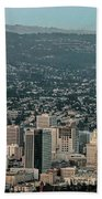 Oakland California Skyline Hand Towel