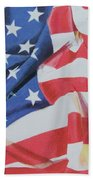 Old Glory Bath Towel