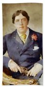 Oscar Wilde, Literary Legend Bath Towel