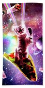 Outer Space Taco Cat Rainbow Laser Eyes Burrito Digital