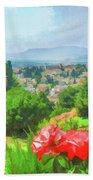 Overlooking Granada Bath Towel