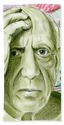 Pablo Piccaso Bath Towel