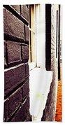 Painted Bricks Hand Towel