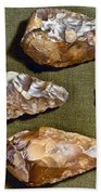 Paleolithic Tools Bath Towel