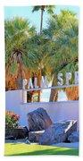 Palm Springs Welcome Bath Towel