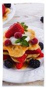 Pancake Bath Towel