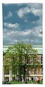Panorama Of The Museum-estate Tsaritsyno Bath Towel