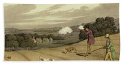 Partridge Shooting Bath Towel