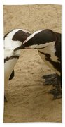 Penguins Bath Towel