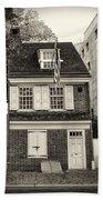 Philadelphia - The Betsy Ross House Bath Towel