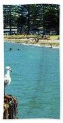 Pilot Bay Beach 4 - Mount Maunganui Tauranga New Zealand Bath Towel