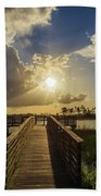 Pine Glades Sunset Bath Towel
