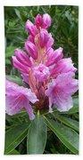 Pink Rhododendron 0070 Bath Towel