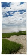 Plymouth, Massachusetts, Beach Bath Towel