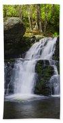 Pocono Mountains - Flowing Cascades Bath Towel